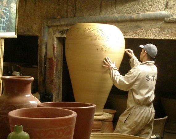 Vasi e anfore articolo prodotto marocchino anfore e vasi for Vasi in terracotta on line