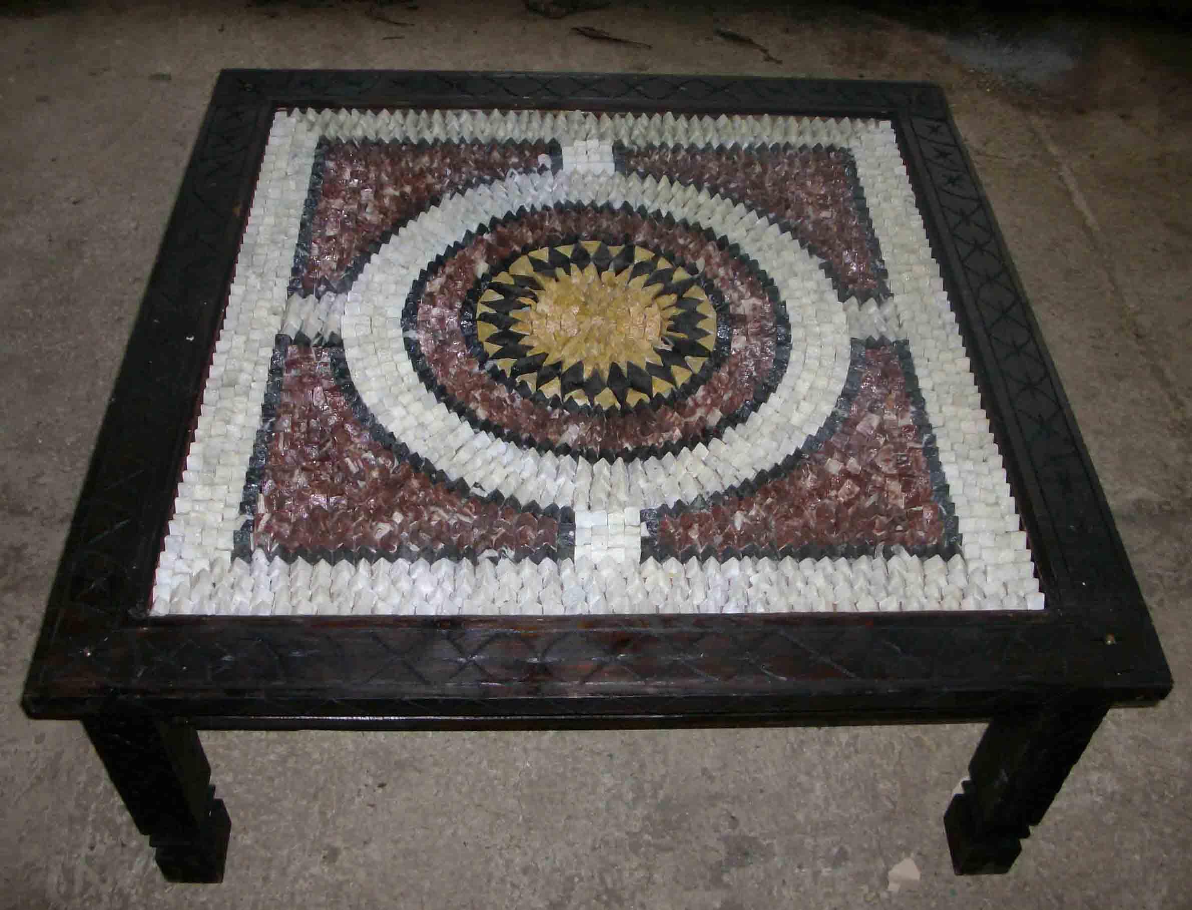 Tavolo marmo marocchino articolo prodotto marocchino for Tavolo legno piano marmo