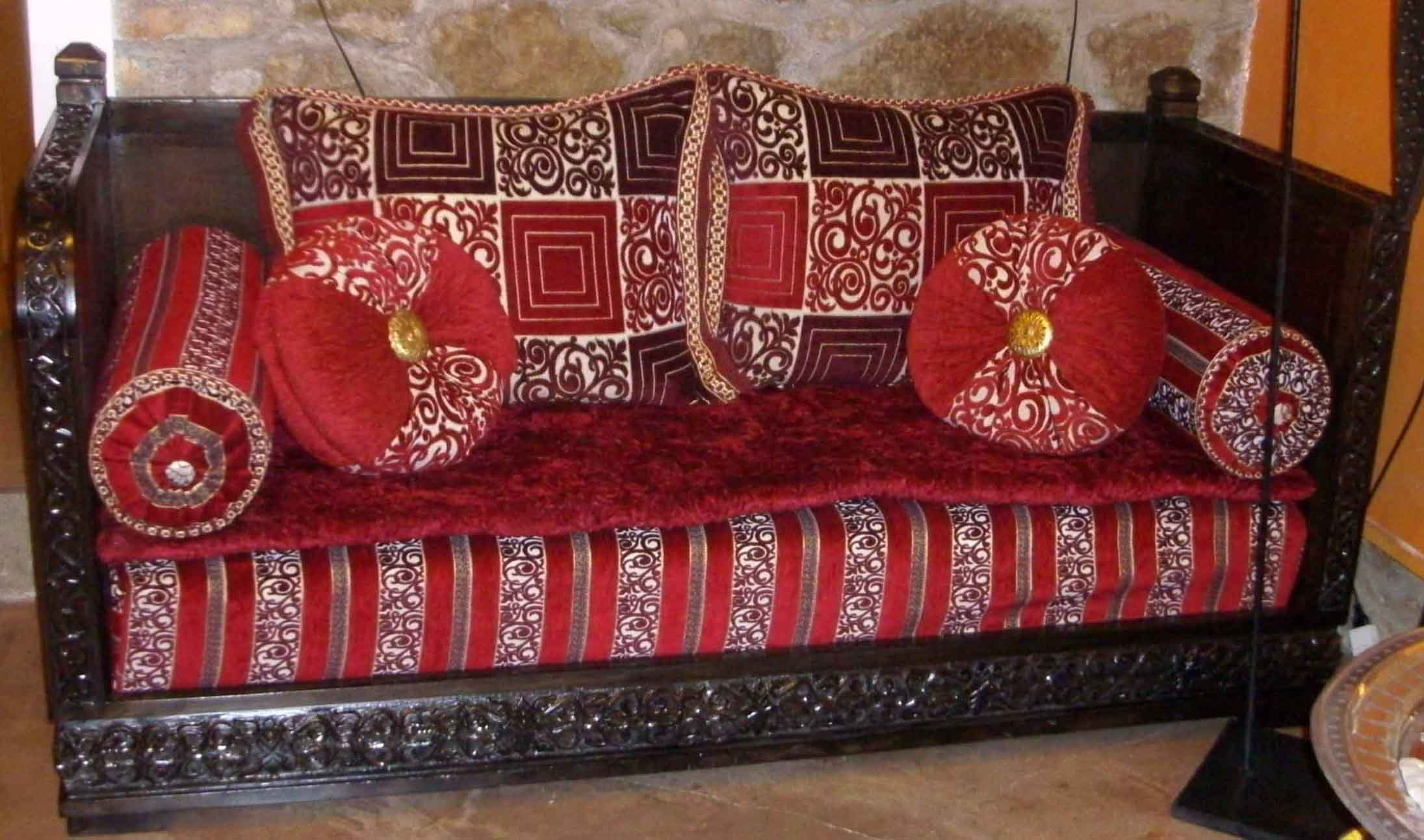 Divano marocchino articolo prodotto marocchino divano angolare marocchino in legno di cedro intag - Mobili marocchini ...