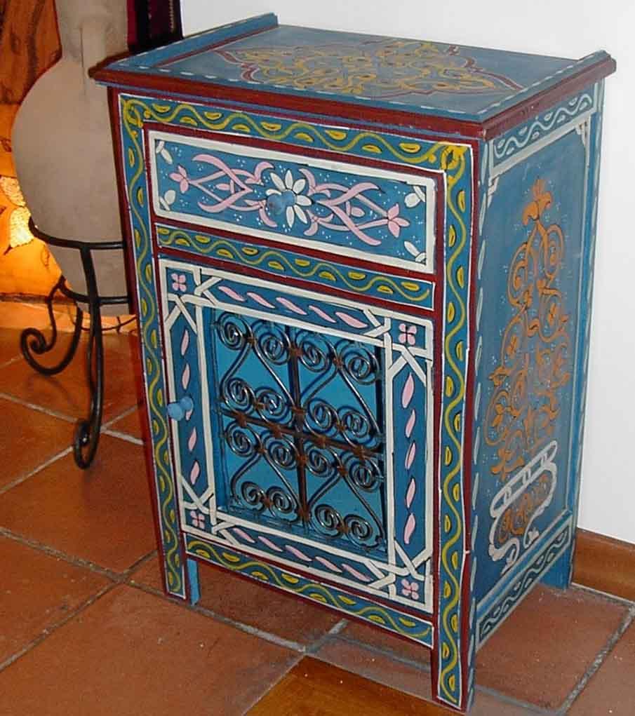 Artigianato su misura arredo mobili vari prodotti e articoli etnici marocchini ed orientali - Mobili marocchini ...