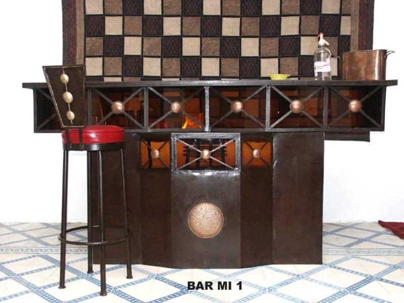 Prodotti arredo in ferro di artigianato su misura articoli etnici marocchini ed orientali - Mobili orientali roma ...
