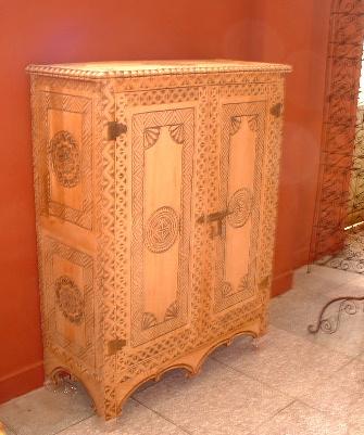 Mobile marocchino articolo prodotto marocchino mobile marocchino a 2 sportelli in legno di cedro - Mobili marocchini ...