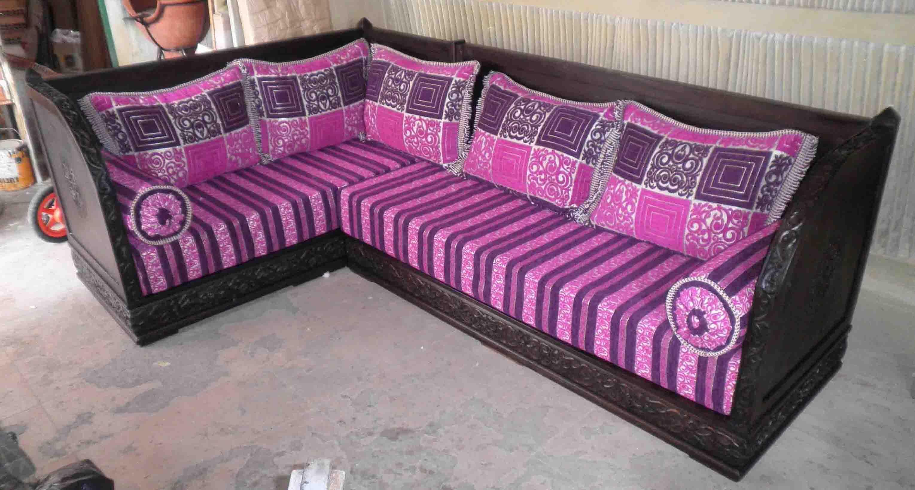 Divano angolare marocchino articolo prodotto marocchino divano angolare marocchino in legno di - Mobili marocchini ...