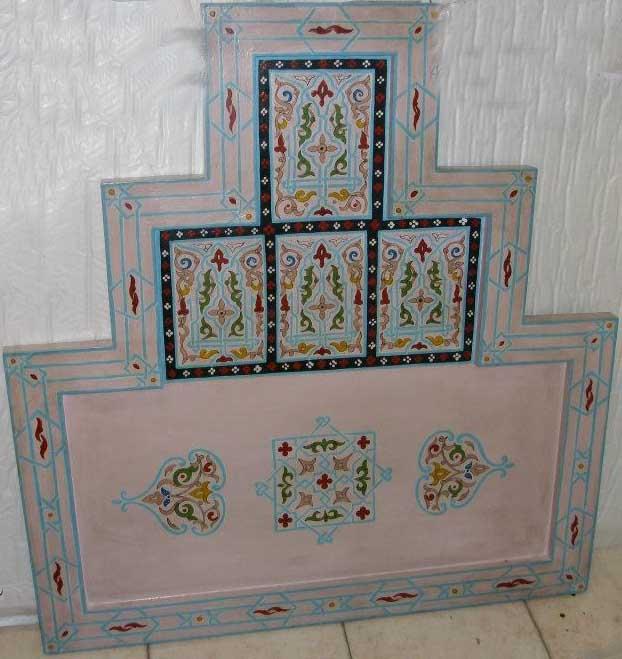Testata letto marocchina articolo prodotto marocchino - Marocchine a letto ...