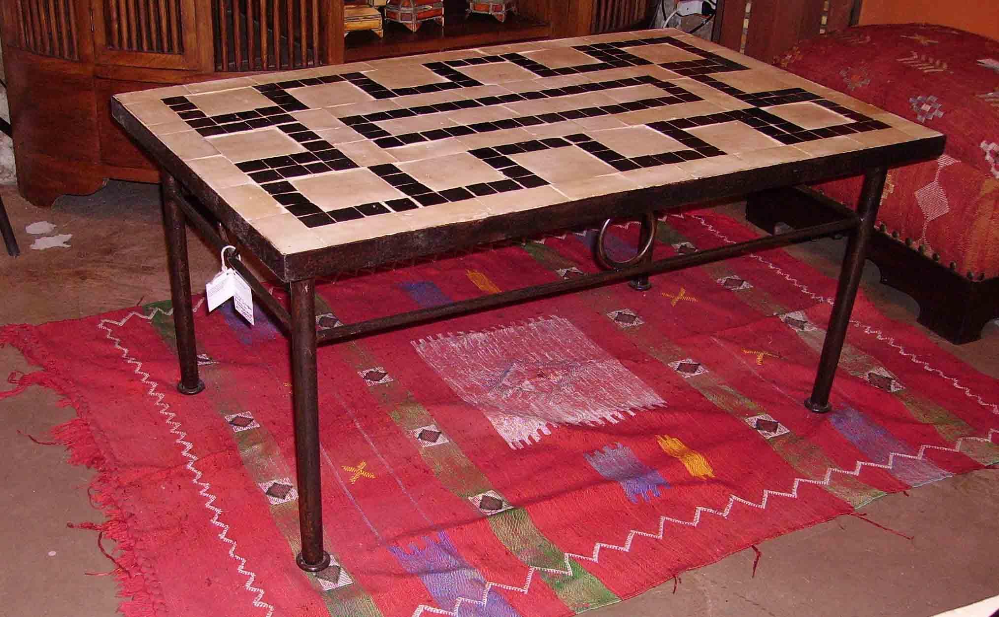 Artigianato su misura tavoli zellige prodotti e articoli