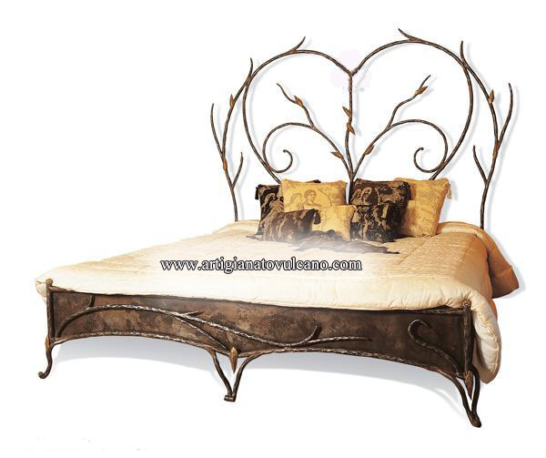 Artigianato su misura arredo in ferro letti prodotti e - Marocchine a letto ...