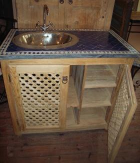 artigianato su misura arredo bagno consolle bagno prodotti e articoli etnici marocchini ed orientali