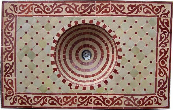 Artigianato su misura arredo bagno, lavabi marocchini   prodotti e ...